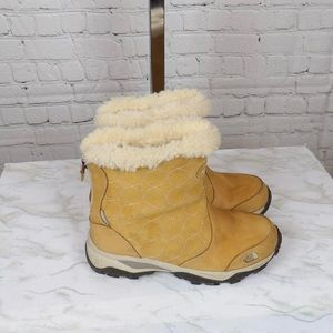 The NorthFace suede winter boots